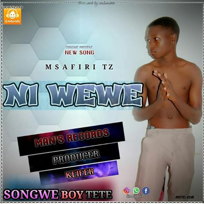 Msafiri music _Ni wewe --official audio mp3 produced by man's records studio