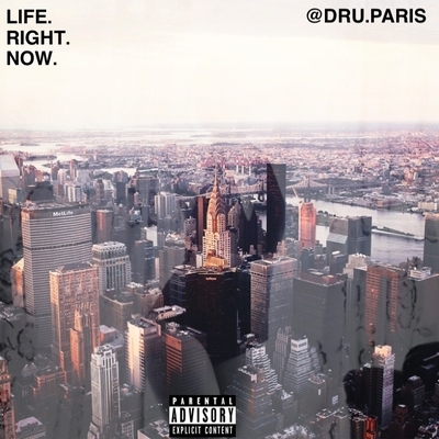 LIFE. RIGHT. NOW - Album Cover