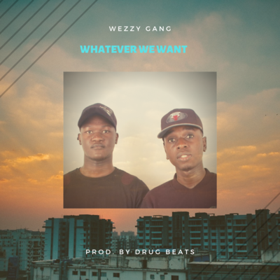 whatever we want - Album Cover